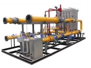 LNG气化调压撬1