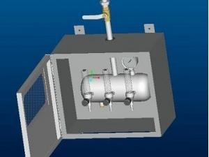 气体工位分配箱5